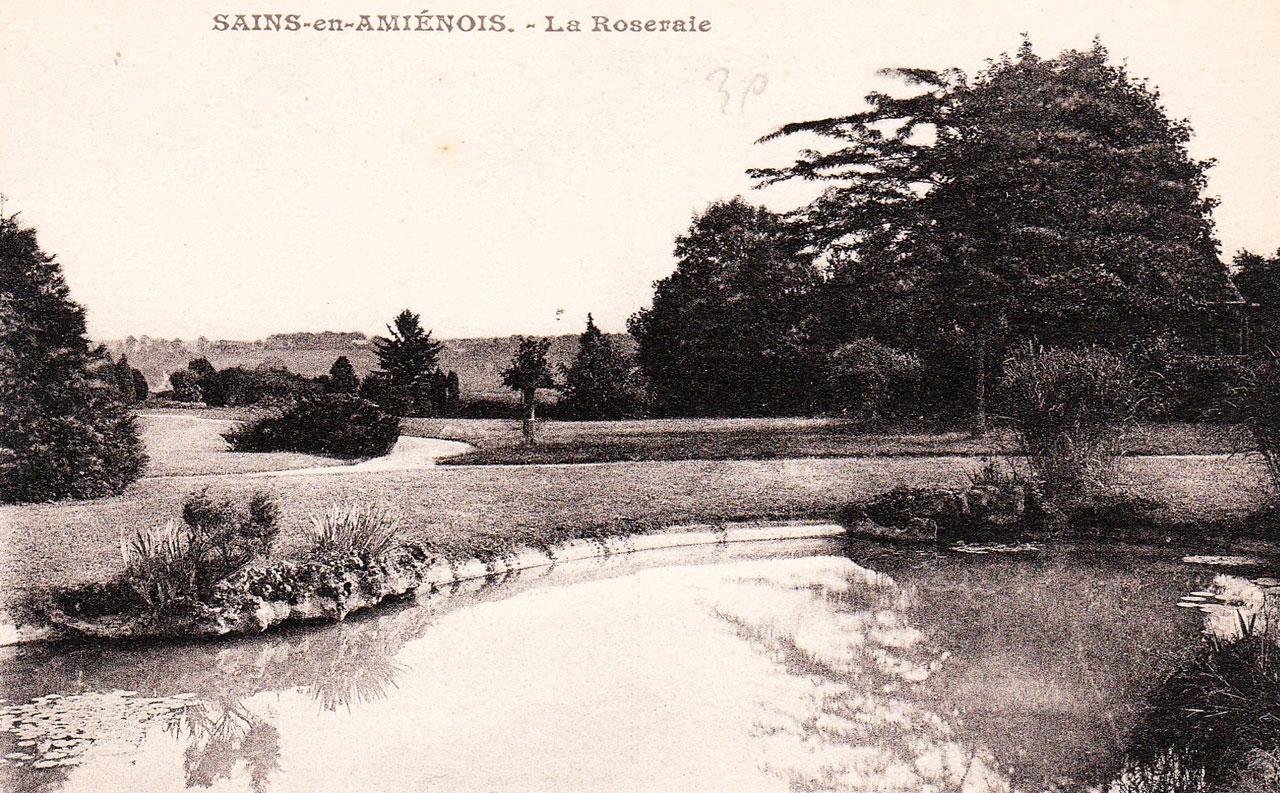 parc de la Roseraie 1903