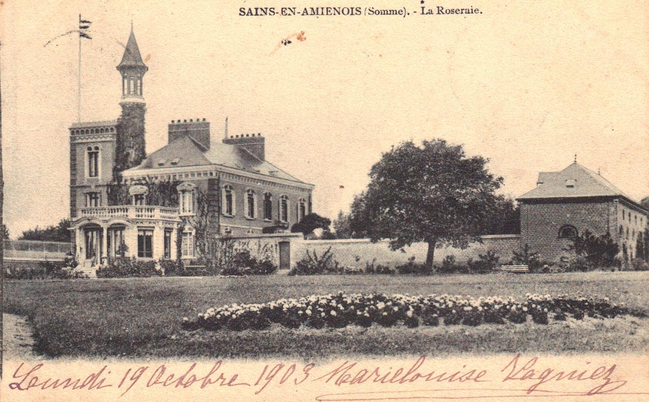 la Roseraie 1903