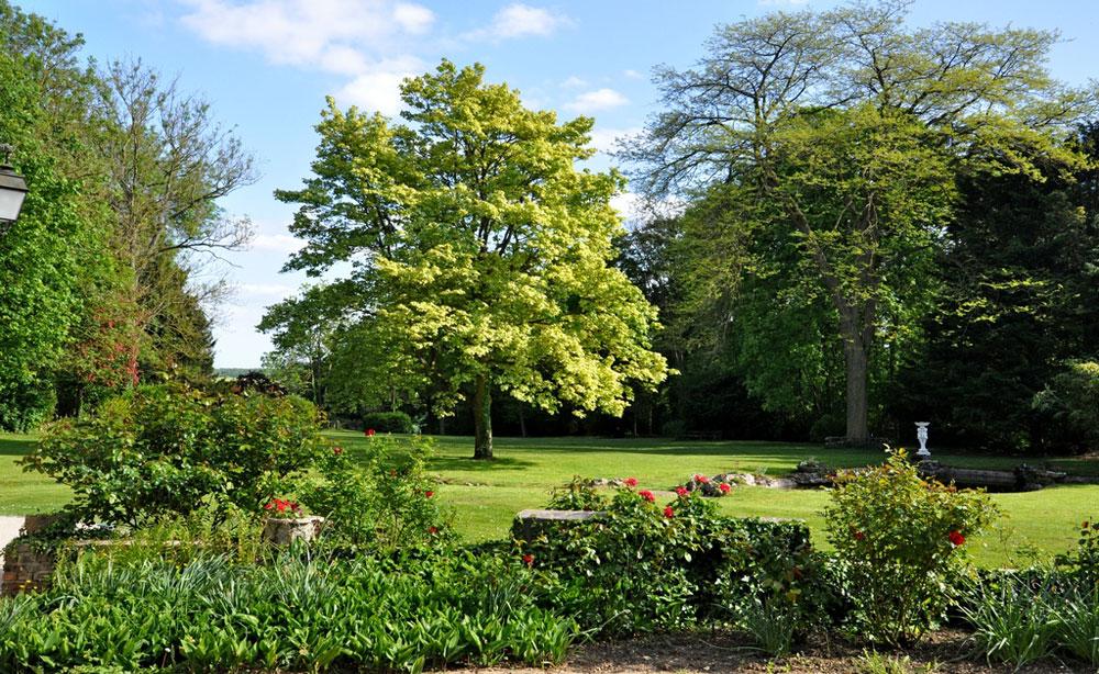 Jardin d'exception et de caractère pour réceptions et séminaires au vert
