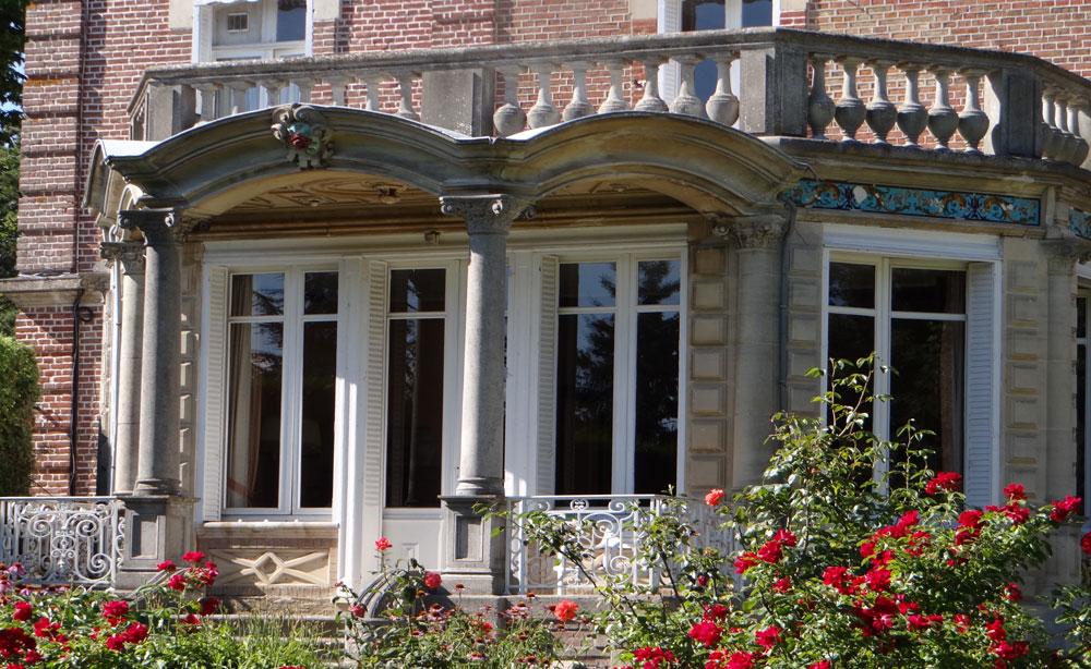 Maison de charme dans parc pour Réception et séminaire la rotonde