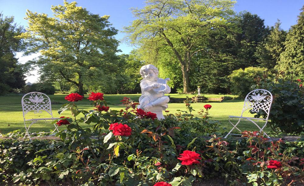 La Roseraie 80 Réceptions et séminaires vue sur le parc