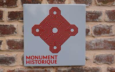 La Roseraie, Monument Historique